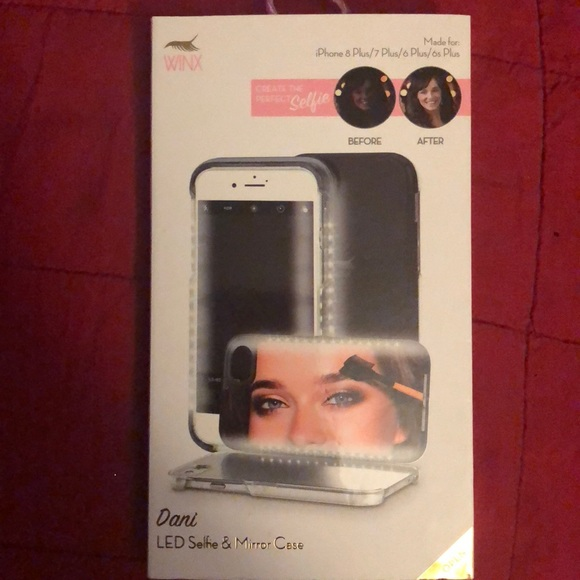 brand new c5a96 4b73f ONLY FOR AMEENASHELL01–LED selfie mirror case NWT